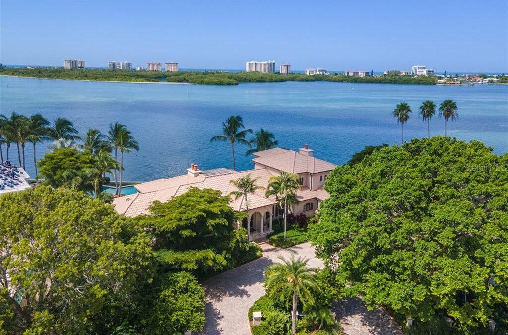 Sold: 622 S OWL DR, Bird Key Sarasota $6,000,000